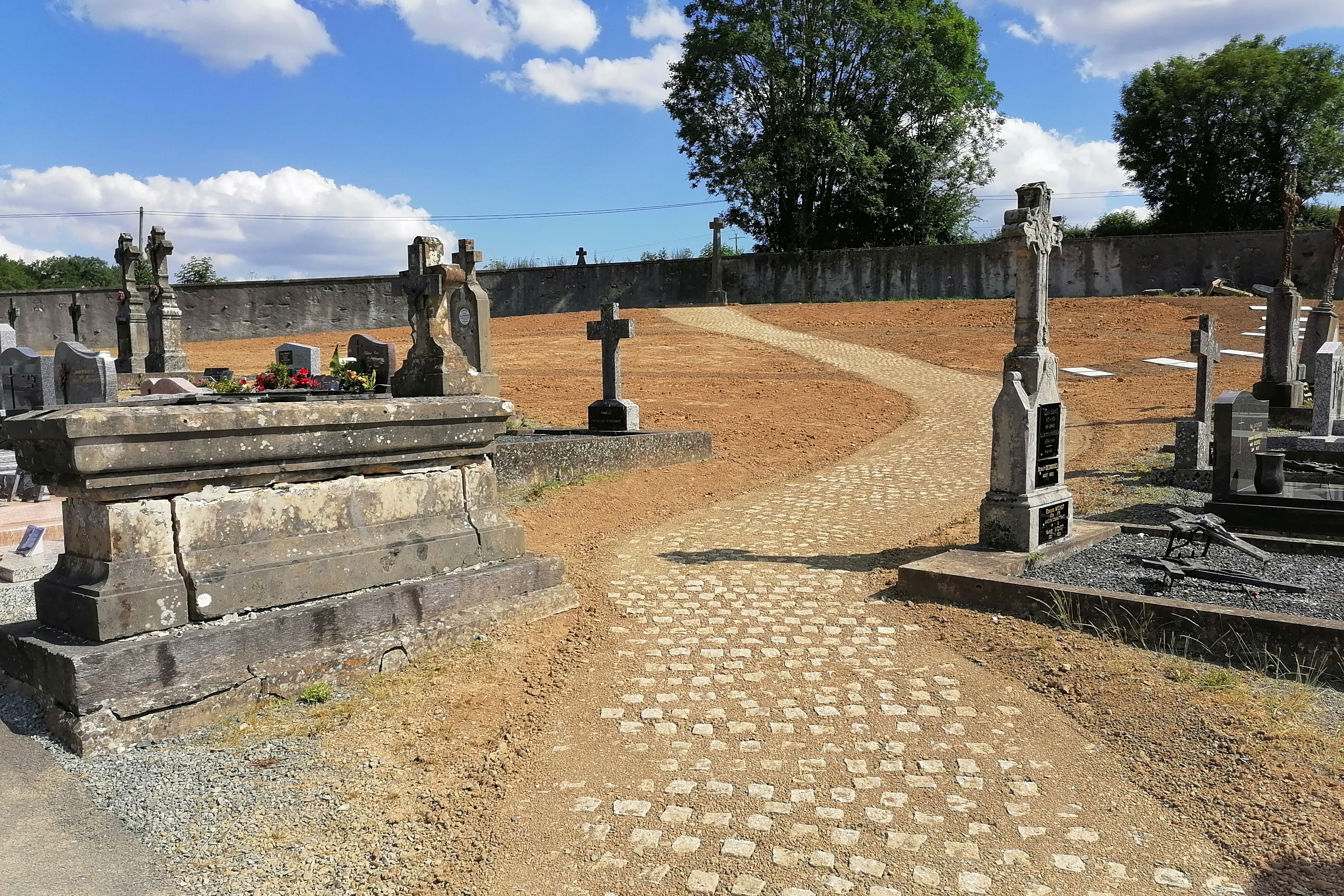 cimetière futur carré paysagé